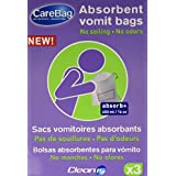 Cleanis CareBag Vomit Bag with Super Absorbent Pad - Pack of 3