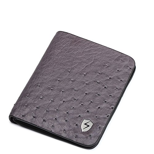 Blocking 10x12cm B Card Protector Leather Trip Money Wallets a Case Rfid Credit Excellent Men Genuine 4x5inch Portfolios 46fxC4qawd