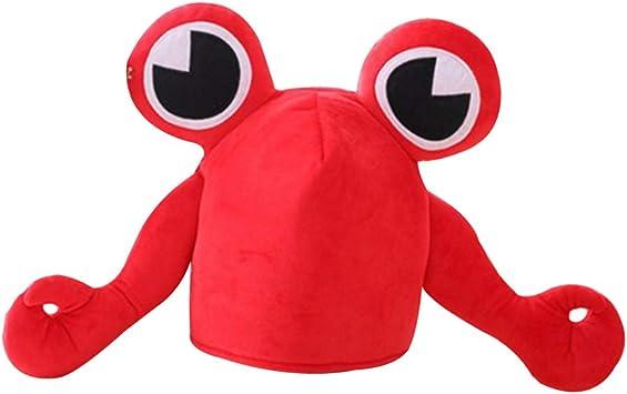 Happyyami Sombrero de Cangrejo con Ojos Grandes Disfraz de ...