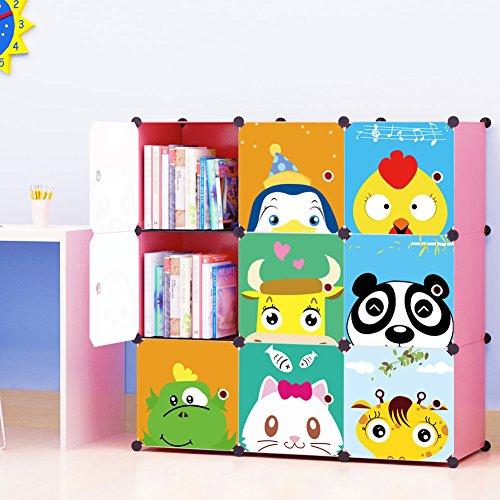 Kids Storage Organizer Bookcase KOUSI product image
