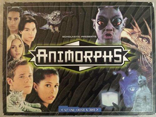 Animorphs Set One: Cassie & Jake Customizable Card Game
