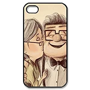 SUUER Rubber Silicone Custom up pixar carl ellie loved Personalized Custom Rubber Tpu CASE for iPhone 5 5s Durable Case Cover