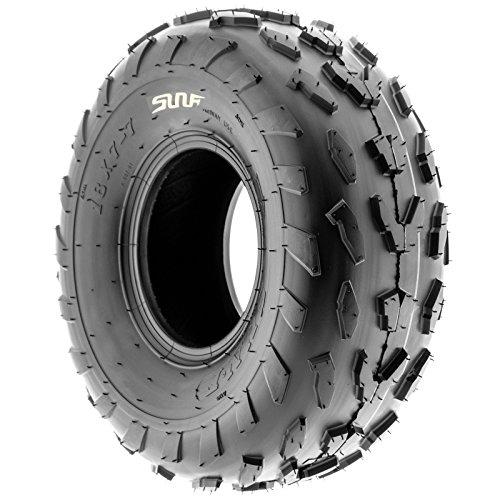SunF 18x7-7 18x7x7 ATV UTV A/T Quad Race Replacement 4 PR Tubeless Tires A007, [Set of 2] by SunF (Image #5)