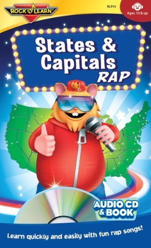 Rock N Learn: States & Capitals Rap by Various Artists (1996-01-01)