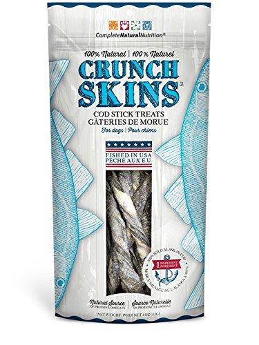 - Presidio Natural Pet Company Crunch Skins Twisted Cod Sticks, 4 Oz