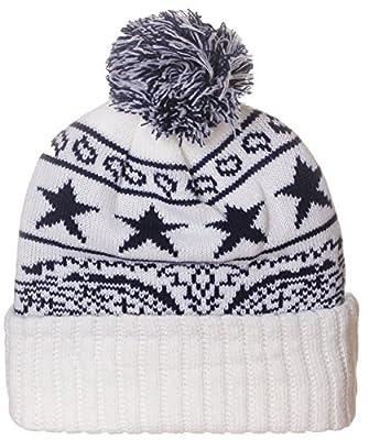 American Cities Unisex USA Bandana Style Cities Pom Pom Knit Hat Cap Beanie