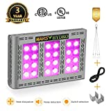 Led Grow Light Mars Hydro 600W Full Spectrum Grow Lights for High Yield Indoor Plants Veg and Flower Plant Lights for Hydroponics (Pro II Epistar 600W)