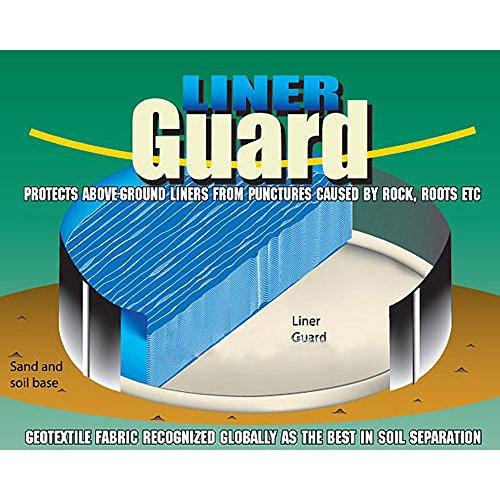 Liner Guard Floor Padding - Liner Guard LG18R 18' Round Pool Premium Floor Padding 18 Ft Size 8R