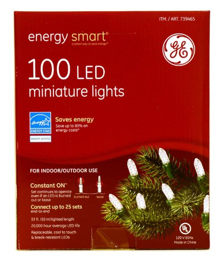 Ge Led Christmas Lights 100 in Florida - 3