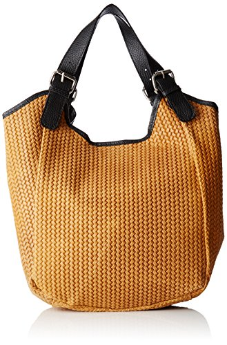 Women 80050 cuoio Chicca Borse Orange Handbags BZUUwS