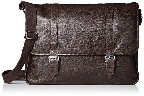 leather messenger bag cole haan - 3