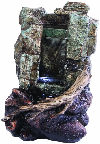 Kelkay F4630L Mini Wildwood Cascade Fountain Including lights