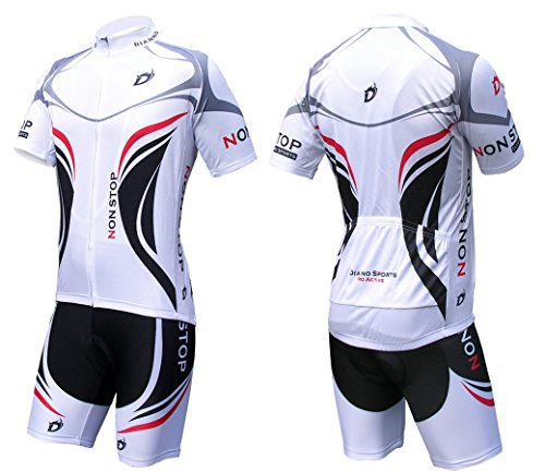 Dianno NonStop Comfort Breathable Bicycle Cycling Short Sleeve Clothing  Set. Jersey And Bib Short (size L) 2af0c77ee