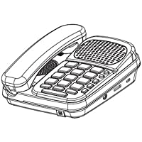 SOUTHERN TELECOM Speakerphone with headset WHITE / SO-EM2246HS /