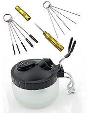 ABESTAIR Set de limpieza para pistola de aerógrafo (4 piezas)