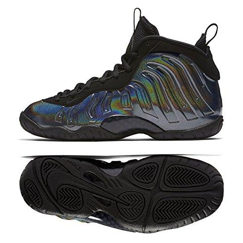 7b9b0b14a5a Nike Little Posite One (GS) 644791-301 Legion Green Black Kids Shoes