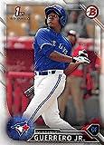 Vladimir Guerrero Jr. baseball card (Toronto Blue Jays) 2016 Topps Bowman 1st #BP55 Rookie