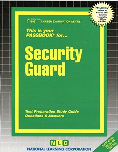 Security Guard (Career Examination Series)