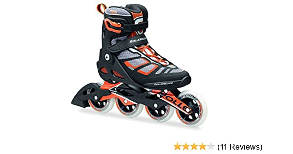 Amazon.com : Rollerblade 16/17 Macroblade 100 Fitness/Workout Skate with 100mm Wheels : Sports & Outdoors