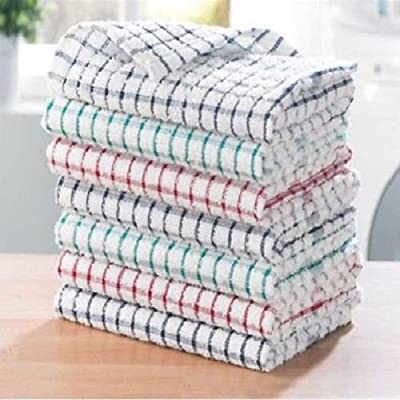 Pack of 3 Tea Towels 100/% Cotton Kitchen Dish Towel Drying Set