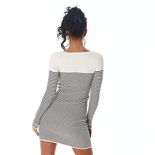 Voyelles - Vestido - para mujer blanco