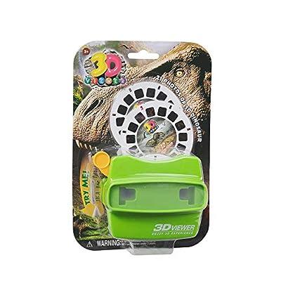 Warm Fuzzy Toys 3D Viewer (Dinosaur): Toys & Games