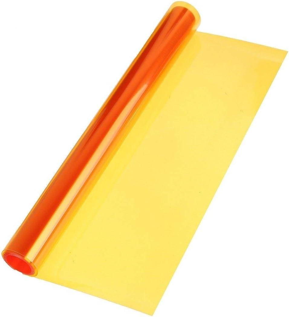 LEON-FOLIEN Scheinwerfer Folie Orange 20 x 30 cm T/önungsfolie Nebelscheinwerfer R/ückleuchten Vorderleuchten Tuning Auto 23,30 EUR pro m/²