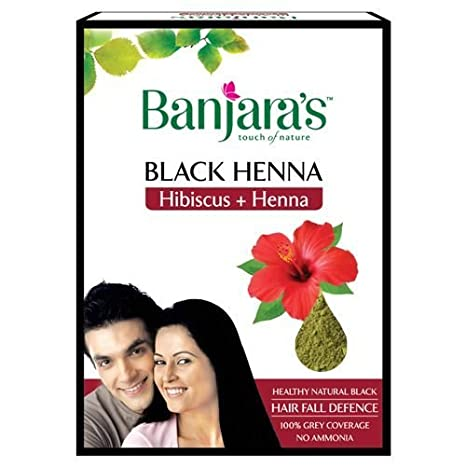80abba4688631 Buy Banjara's Black Henna With Hibiscus (50 Grams) - Pack Of 2 Online at  Low Prices in India - Amazon.in