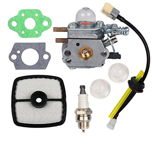 HIFROM C1U-K52 Carburetor Repower Maintenance Kit with Gaskets Air Filter Spark Plug for ECHO GT2000R GT200EZR PAS2000 PAS2100 SHC1700 SHC2100 Series Power Pruner - Series Technical Trimmer