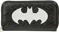 Bioworld Batman Logo Large Zip Around Wallet