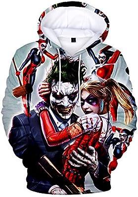 HAHA joker 3D Sweatshirt Hoodies Men and women Hip Hop Funny Autumn Streetwear