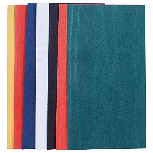 Dyed Base Color Assortment, 3 Sq. Ft. Veneer Pack ()