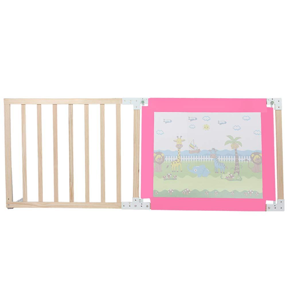 ベッドフェンス- 木のベッドのRaikの監視 - 赤ん坊の落下防止棒縦の上昇のベッドサイドガードレール、シングル/ダブルベッド (サイズ さいず : 200cm) 200cm  B07MYYC745