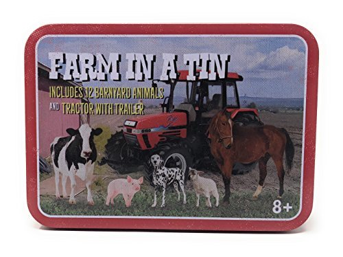 Farm Animals In A Tin