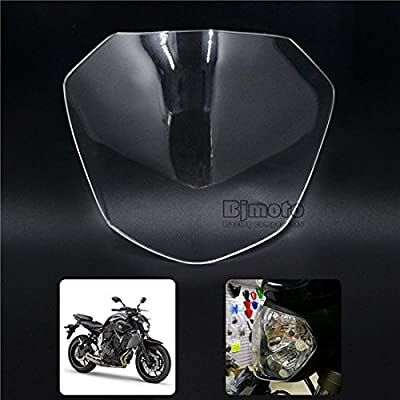 New ABS Motorcycle Scooter Headlight Screen Protective Cover Lamp Guards For Yamaha MT-07 MT07 2013-2016 FZ-07 FZ07 2015-2016