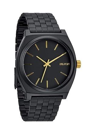 59ffdd78590f Nixon Reloj Analógico de Cuarzo para Hombre con Correa de Acero Inoxidable  - A0451041-00  Amazon.es  Relojes