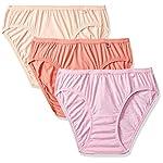 Van Heusen Women's Plain Anti-Bacterial Bikini (Pack of 3)