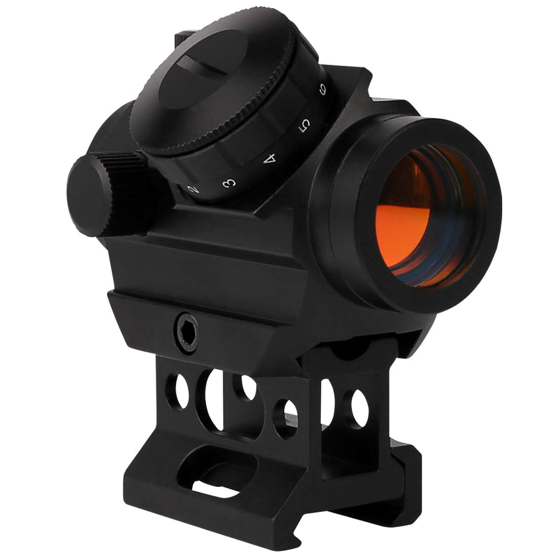 RETTBERG Reflex Red Green Dot Sight – Adjustable Reticle (4 Styles)11mm or