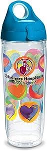 Tervis Shriners Hospitals for Children Insulated Tumbler, 24oz Water Bottle - Tritan, Heart