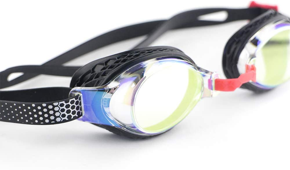 para Adultos 95890 Dise/ño Hidrodin/ámico Lentes de Espejo iedge VG-958 Gafas de Nataci/ón Graduadas Performance /& Fitness