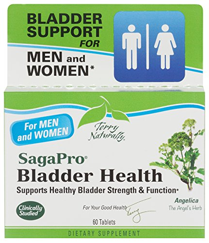 Female Health Support - Terry Naturally SagaPro Bladder Health Support for Men and Women - 60 tablets