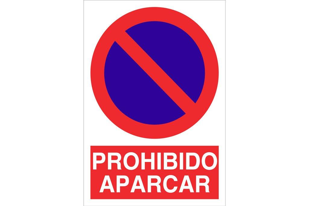 Cofan Señal poliestireno Prohido aparcar 297x210mm