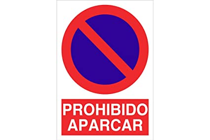 0d15c196f439 Cofan Señal poliestireno Prohido aparcar 297x210mm