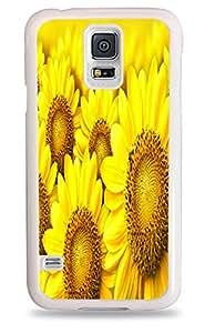 Sunflower Galaxy S5 White Hardshell Case