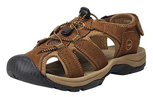 a7b73dcc6387 Wentsven Mens Sandals Closed Toe Hiking Beach Sandles - Buy Online in UAE.
