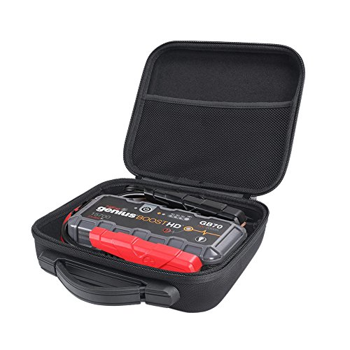 Esimen Hard Case for Noco Genius Boost HD GB70 2000 Amp 12V UltraSafe Lithium Jump Starter Accessories Carry Bag Protective Storage Box (Black) -  QT101