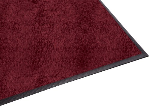 Guardian Platinum Series Indoor Wiper Floor Mat, Rubber with Nylon Carpet, 6'x8', Burgundy by Guardian (Image #6)