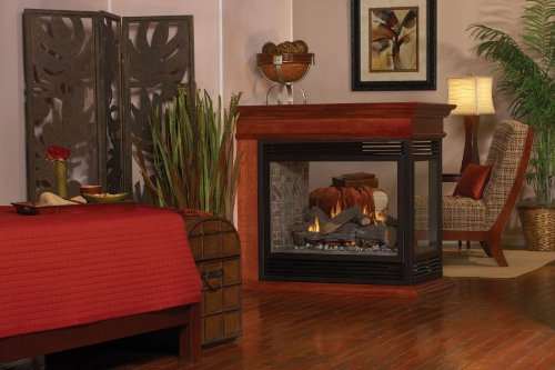 Premium Direct Vent Peninsula Fireplace DVP36PP32EP - Liquid (Direct Vent Peninsula Fireplaces)