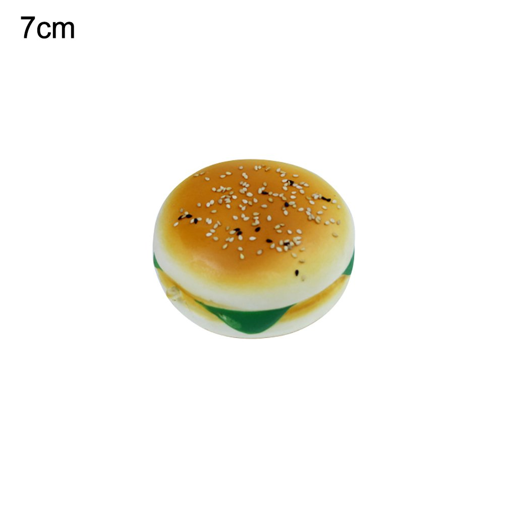 Soft Simulated Hamburger Squeeze Toys Decompression Toys Stress Relief Gift for Kids Adults Gilroy Slow Rising Toy
