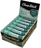 ChapStick 100% Natural Lip Butter, Green Tea Mint, 0.15 oz (Pack of 12)